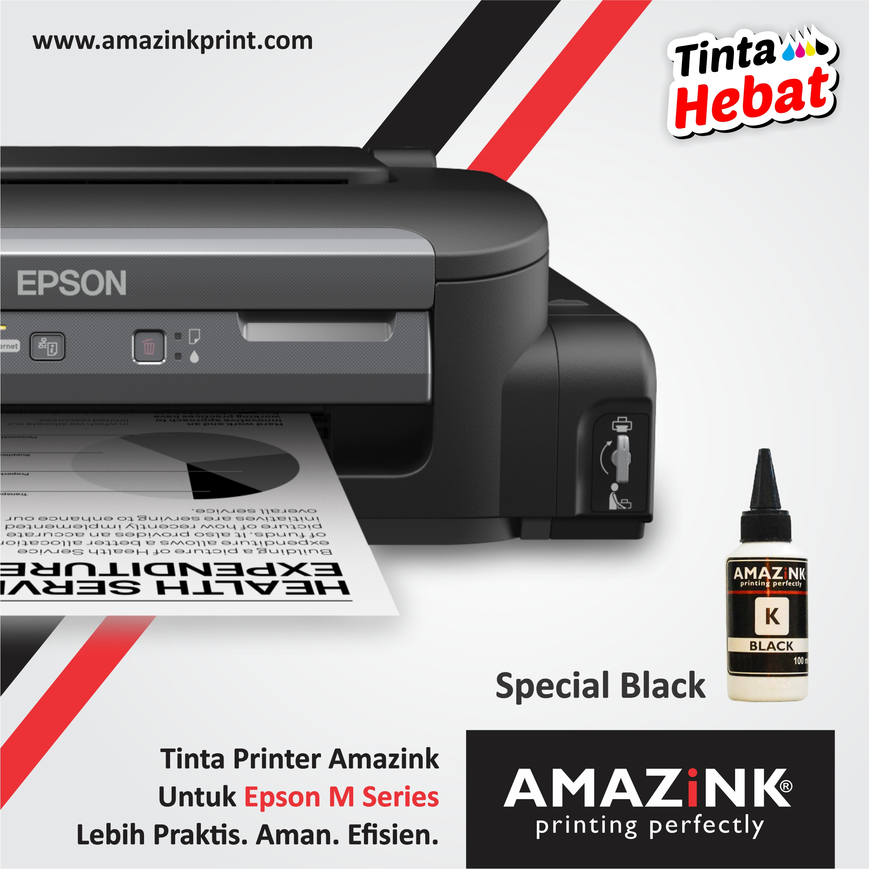 Tinta Printer Epson M100 dan Epson M200 Dari AMAZiNK