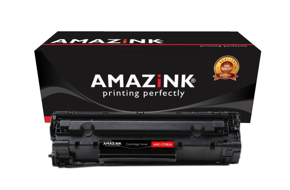 Cara Memasang Cartridge Toner 83A dari AMAZiNK AMZ-CF283A